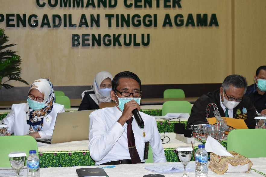 Rapat Pemantapan Monitoring dan Evaluasi Pembangunan Zona Integritas PTA Bengkulu   (2/8)
